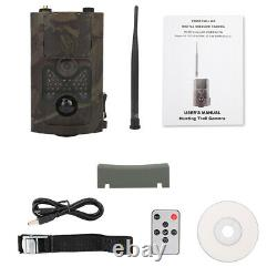 16MP 1080P Night Vision 4G Hunting Trail Video Camera Battery Powered Outdoor