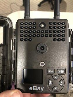 (2) Covert Scouting Cameras E1 AT&T Trail Camera With Metal Lock Boxes