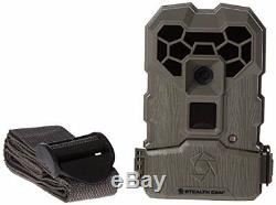 4 Pack Set Stealth Cam QS12 12MP Scouting Game Trail Camera Cam Infrared AA