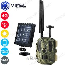 4G Hunting Trail 32GB Wild Life Camera GPS 3G PIR IR Security Outdoor Device