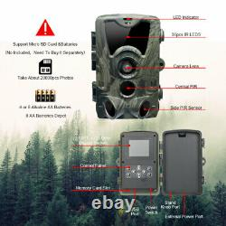 4G LTE 1080P MMS SMS Hunting Camera Trail Game Farm Scouting Security HC-801LTE