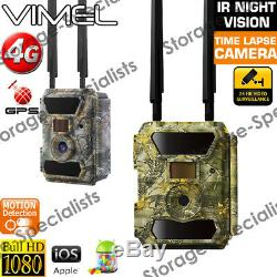 4G Trail Camera Home Android iOS APP Wireless 3G GPS Hunting Farm