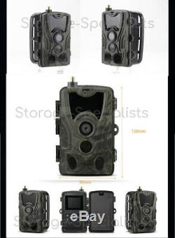 4G Trail Camera Scout Cam Anti Theft Security Home phone MMS Night Vision 3G