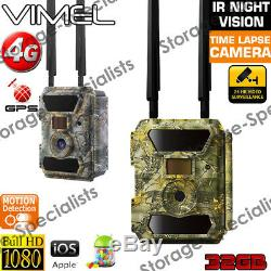 4G Trail Camera mobile phone APP Home Security Wireless phone 3G