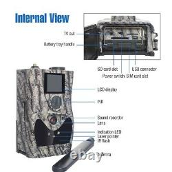 4G Wildlife Trail Camera Wireless Hunting Game Security Cam Clear Night Vision