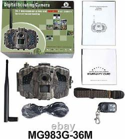 Boly Wireless Hunting Trail Camera 3G 30MP 1080p HD Video Invisible IR LCD IOS