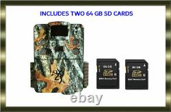 Browning BTC 5HD PX Strike Force HD Pro X Trail Camera W Two 64G SD Cards