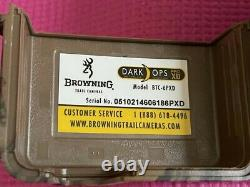Browning Dark Ops Pro XD Trail Camera, 24MP with 6X AA Duracell Batteries
