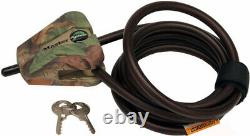Browning Trail Camera Box 4 pack with Cable Lock with 16GB Card and Reader