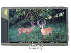 Browning Trail Camera Viewer with 7 Screen View Images/Videos In The Field