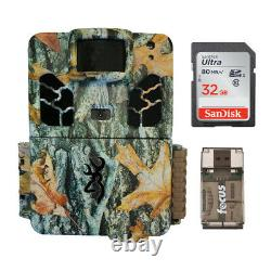 Browning Trail Cameras Dark Ops HD Pro X 20MP Game Cam, Camo, with 32GB Card Kit