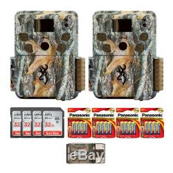 Browning Trail Cameras Strike Force Explorer 18MP Trail Cam (2-Pack) with Accs