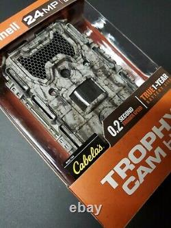 Bushnell Trophy Cam HD 24MP Low Glow Trail Camera Camo NEW- Excellent Quality