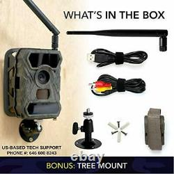 CREATIVE XP 3G Cellular Trail Cameras Outdoor WiFi Full HD Wild Game Camera