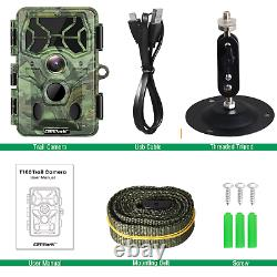 Campark 4K WiFi Bluetooth Trail Camera 30MP Game Hunting Cam SONY Night Vision