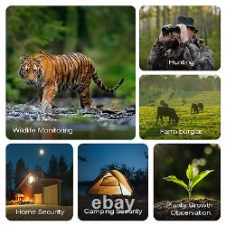 Campark T90 4K Wildlife Trail Camera 24MP WiFi Hunting Security Cam Night Vision