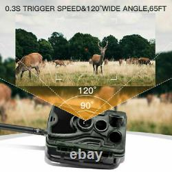 FTP SMTP 4G MMS Email 16MP Hunting Trail Camera Wireless SMS Cellular Mobile