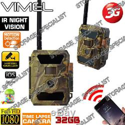 Home Security Camera 3G Trail Hunting Farm Guard Waterproof motion activation