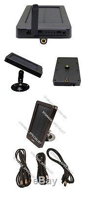 Home Security Camera 4G Solar Panel Trail Hunting GSM Wireless 3G