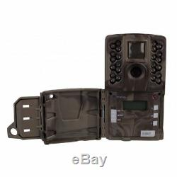 Moultrie A-40 Pro 14MP Low Glow Infrared Game Trail Camera with SD Card (2 Pack)