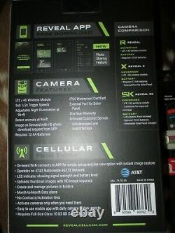 New TACTACAM 2021 Reveal X Cellular Trail Game Camera AT&T with 32 GB SanDisk Card