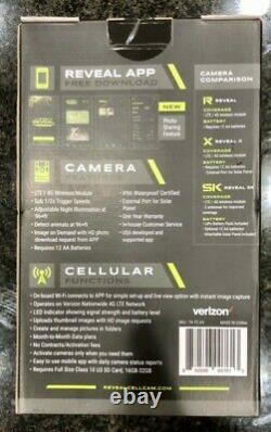New Tactacam Reveal X Cellular Trail Camera Fast Shipping