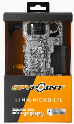 SPYPOINT LINK MICRO LTE Nationwide 4G IR Infrared Cellular Trail Security Camera