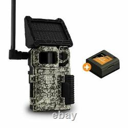 SPYPOINT LINK-MICRO-S-LTE Solar Cellular Trail Camera 4 LED Infrared