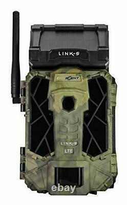 SPYPOINT LINK-S Solar Cellular Trail Camera, 4G/LTE, 12MP HD Video