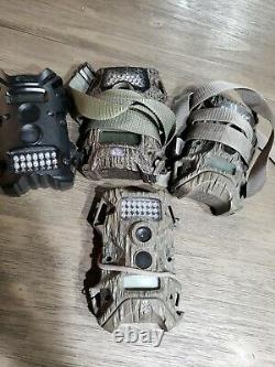 Set of 4 Used trail cameras