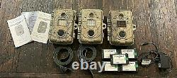 Spy Point Trail Cameras Lot IR-5, I-6, BF-6,5 Rechargeable battery packs +++