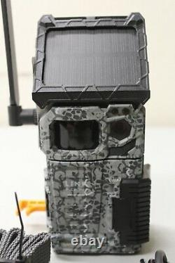 Spypoint LINK Micro S LTE Solar Cellular Trail Camera withstrap, charge cord