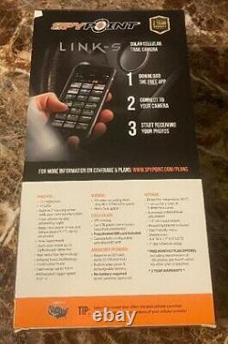 Spypoint Mobile AT&T LTE Cellular 12MP HD Video Solar Game Trail Camera LINK-S