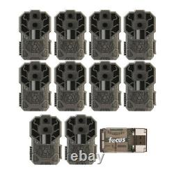 Stealth Cam DS4K 30MP Trail Camera (10-Pack) and Card Reader