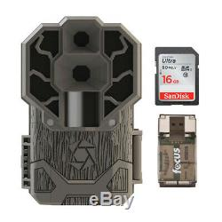 Stealth Cam DS4K 30MP Trail Camera (Brown) with 16GB Card and Reader