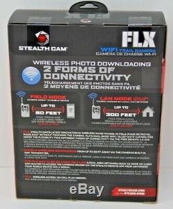 Stealth Cam FLX XV4WF 30MP Wi-Fi & Bluetooth Trail Camera Hunting Infrared New