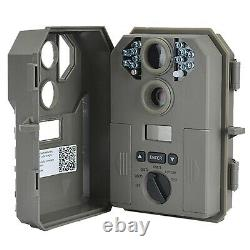 Stealth Cam P12 IR 6.0 MP Scouting Trail Hunting Game Camera with Video (2 Pack)