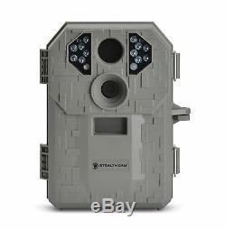 Stealth Cam P12 IR 6.0 MP Scouting Trail Hunting Game Camera with Video (4 Pack)