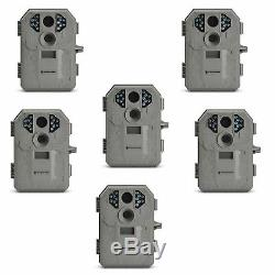 Stealth Cam P12 IR 6.0 MP Scouting Trail Hunting Game Video Camera (6 Pack)