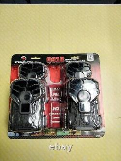 Stealth Cam QS18 Infrared Trail Cameras 4 Pack