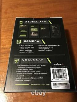 Tactacam Reveal Cellular Trail Camera Verizon Brand New In Box