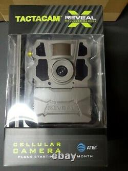 Tactacam Reveal X AT&T Cellular 4G LTE Trail Camera-Brand New-Excellent Quality