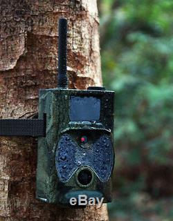 Trail Camera Scout Farm GSM phone MMS GPRS Anti Theft Security Cam Night Vision